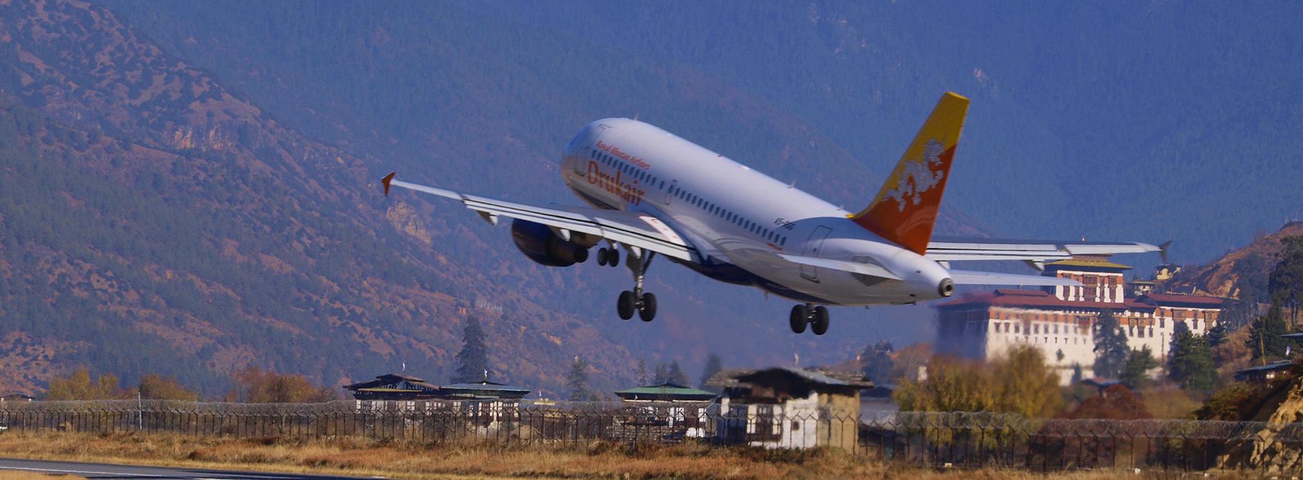 Drukair- Royal Bhutan Airlines